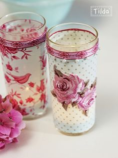 votive candle #diy #crafting