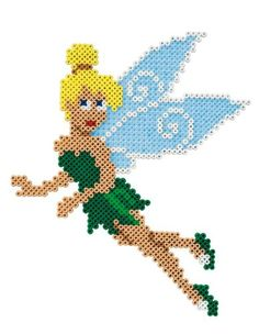 Tinker Bell Disney Fairies Hama beads - Hama 7910
