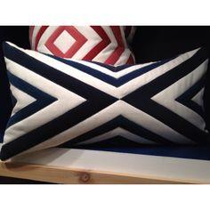 Chevron pillow from V. #hpmkt