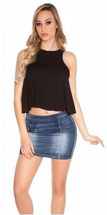 Cropped Shirt von Zarima Cropped Shirt, Denim Skirt, Skirts, Dresses, Fashion, Crop Shirt, Vestidos, Moda, Skirt