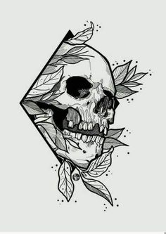 Where do I start drawing pencil drawing? How do I draw? Skull Tattoo Design, Tattoo Design Drawings, Pencil Art Drawings, Skull Tattoos, Art Drawings Sketches, Tattoo Sketches, Sleeve Tattoos, Cool Skull Drawings, Skull Design