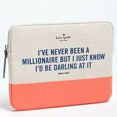 kate spade new york 'millionaire' iPad sleeve  $50.00