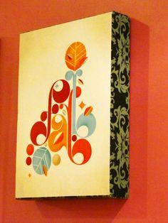Prendendo a arte na parede