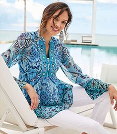 Soft Surroundings - Customer Care - Privacy Policy & Terms Of Use Petite Tops, Petite Women, Denim Duster, Soft Surroundings, Fashion Tips For Women, Pajamas Women, Night Gown, Paisley Sheets, Ice Gel