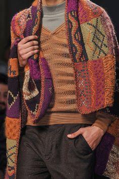 Missoni F/W 2014 Menswear Milan Fashion Week
