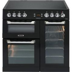 Leisure CS90C530K Cuisinemaster Black 90cm Electric Range Cooker With Ceramic…