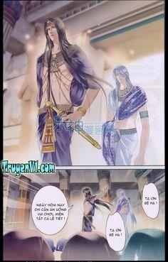 Sủng Phi Của Pharaoh Chap 18
