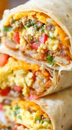 Freezer Breakfast Burritos - Meal prep over the weekend for the best burritos du. Freezer Breakfast Burritos - Meal prep over the weekend for the best Breakfast Dishes, Breakfast Time, Frozen Breakfast, Night Before Breakfast, Breakfast Ideas With Eggs, Meal Prep Breakfast, School Breakfast, Grab And Go Breakfast, Breakfast For Dinner