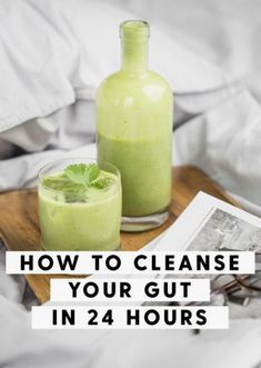Leading Gut Health Expert & frequent guest of Dr. Oz and Good Morning America says this one thing will properly unclog your gut. Detox Cleanse For Weight Loss, Body Detox Cleanse, Full Body Detox, Detox Diet Plan, Liver Detox, Stomach Cleanse, Liver Cleanse, Intestine Detox Cleanse, One Day Cleanse