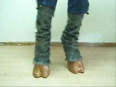 Satyr/Faun feet diy (Awesome but complicated!)