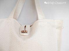 White multi bag - Il Gufo Creativo | Flickr - Photo Sharing!