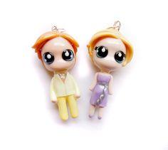 SALE  Gatsby and Daisy  Miniature by WonderlandContraband on Etsy, $34.00