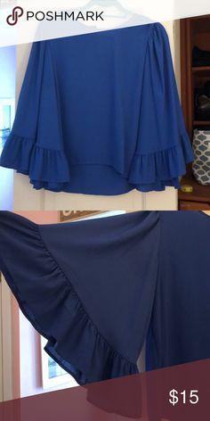 Zara blouse Zara blouse with flowy sleeves. Worn once. Zara Tops