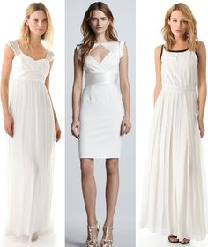White dresses that double as wedding gowns
