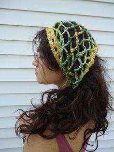 Pineapple Pineal Crochet Dread Wrap