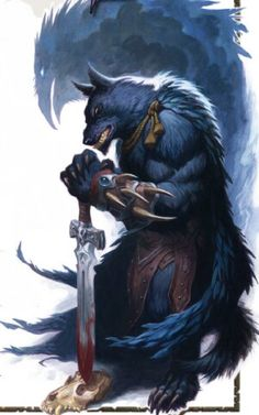 67 best werewolf images on Pinterest   Werewolf  Monsters and     Shadow Lord Garou  these werewolves are known as  Storm Crows   their totem  is Grandfather Thunder