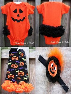 @Jennifer Mitchell - THIS is this JUST like the pumpkin onesie I bought her and THIS is exactly what I had pictured for it!!!!