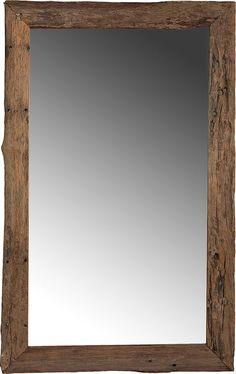 Driftwood Flooring, Driftwood Mirror, Recycled Mirrors, Door Stays, Diy Barn Door, Floor Mirror, Interior Barn Doors, Rustic Feel, Creative Decor