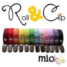 Braçadeiras Roll & Clip | Roll & Clip Bands.
