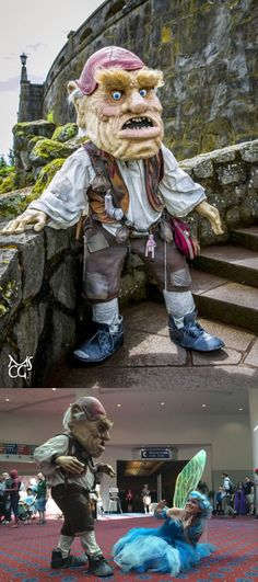 Hoggle cosplay from the movie Labyrinth Sarah Labyrinth, Best Cosplay, Best Funny Pictures, Nerd, Costumes, Manga, Memes, Cute, Cosplay Ideas