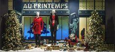 Christmas 2014. Magic Journey at Printemps Paris with Burberry. @photoFrancisPeyrat