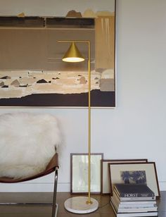 Explore the modern Captain Flint LED Floor Lamp, with a shade that rotates a full 360 degrees to direct light where needed. Decor, Lamp Design, Interior Decorating, Interior, Interior Inspiration, Home Decor, House Interior, Floor Lamp Design, Interior Design
