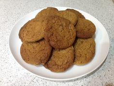 Ginger biscuits - 30 minutes well spent