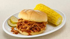 Slow Cookers Sweet & Smoky Pulled Chicken