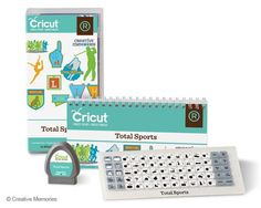 The Total Sports Cricut Cartridge!  This one will go fast!  $58