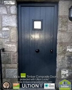 Anthracite Grey Flint Square Solidor Timber Composite Door from with 12 Months Interest Free Credit fitted to any postcode in the UK secured with Ultion 3 ... & another Anthracite Grey Monza Solidor Timber Composite Door from ... Pezcame.Com