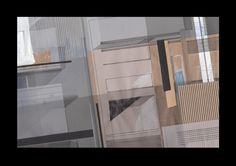 """Deconstructing Berlin"" / ink, acrylic, marker / 30 x 42 cm / 2016"