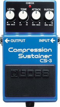 Boss CS-3 Compression Sustainer Main Product Image