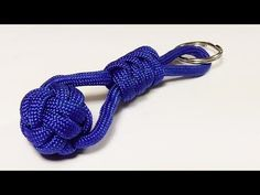 """How You Can Make A Ball And Snake Knot Keychain"" - WhyKnot - YouTube"