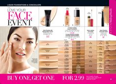 Avon Makeup Sale--Buy One Get One for only $2.99. Now that's a deal! Get affordable beauty products from a small business. http://mbertsch.avonrepresentative.com #makeup #Avon