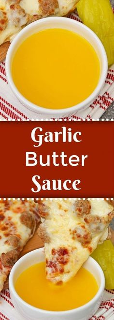 If you've ever wondered how to make garlic butter sauce wonder no more. This recipe is just like the Papa John's dipping sauce for pizza or breadsticks! Garlic Sauce For Pizza, Garlic Butter For Bread, Garlic Dipping Sauces, Homemade Garlic Butter, Garlic Butter Sauce, Butter Recipe, Papa John's Garlic Sauce Recipe, Garlic Bread, Papa Johns Pizza Sauce Recipe