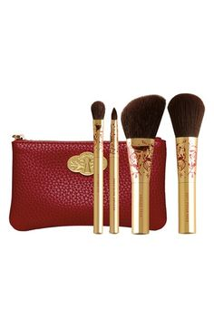 bareMinerals® 'Swept Away' Mini Brush Collection (Limited Edition) available at #Nordstrom