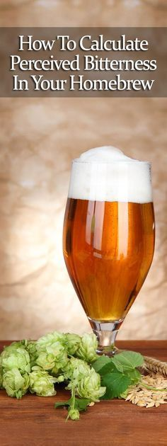 How To Calculate Perceived Bitterness in Your Homebrew #beer #homebrew awesome advice for DIY homebrewing.
