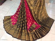 Checkout this latest Sarees Product Name: *Aagam Superior sarees vol 1* Saree Fabric: Kanjeevaram Silk Blouse: Running Blouse Blouse Fabric: Kanjeevaram Silk Pattern: Zari Woven Blouse Pattern: Zari Woven Multipack: Single Sizes:  Free Size (Saree Length Size: 5.5 m, Blouse Length Size: 0.8 m)  Country of Origin: India Easy Returns Available In Case Of Any Issue   Catalog Rating: ★3.9 (2364)  Catalog Name: Aagam Petite Sarees CatalogID_3500338 C74-SC1004 Code: 228-17384703-5232