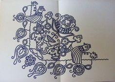 Udvarhelyi varrottasok2, by Gizell Sandor (Hungarian folk art)