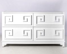 Werstler Dresser - White Lacquer - Clayton Gray Home