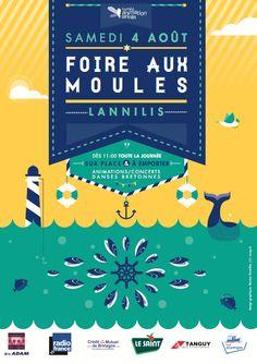 Foire aux moules | NAVYY | graphiste Nantes & Brest
