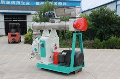 Ring Die Feed Pellet Mill Machine, makes many kinds of cereals, coarse fiber materials as grass, crop stalk, peanut shell and grass etc into all kinds of feed pellets for livestock, poultry. Model: SZLH350 Capacity: 2-6 ton per hour Main Power: 55kw Inside Diameter: 350mm Pellet Size: 2-8mm Size: 2500*1000*2000mm Weight: 2600kg