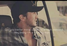 Luke Bryan — A Day in the Life Country Music Quotes, Country Music Lyrics, Country Songs, Country Men, Country Girls, Country Life, American Country, Luke Bryan Quotes, Bae
