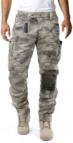 7d931b29798 Amazon.com   Survival Tactical Gear Men s Airsoft Wargame Tactical Pants  with Knee Protection System   Air Circulation System   Sports   Outdoors