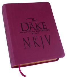 Dake kjv bonded leather dake annotated reference bible books and dake new king james bible dake study bibles fandeluxe Choice Image
