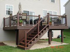 Deck Design Plans, Small Patio Design, Patio Under Decks, Decks And Porches, Deck Shade, Deck Makeover, Backyard Renovations, Deck Construction, House Deck