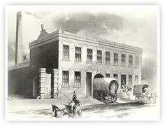 1847THE BUSINESS MOVES TO BRIDGE STREET  In 1847, the Cadbury brothers' booming business moved into a new, larger factory in Bridge Street in the centre of Birmingham.  www.cadbury.co.uk
