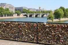 Paris Bridge of Locks (Pont des Arts) ~ Decor To Adore summer travel series 2014