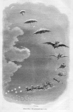"Grandville""Une promenade dans le ciel"" - Jean Ignace Isidore Gérard Grandville - Wikipedia, the free encyclopedia"