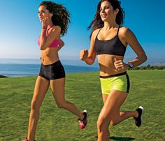 Blast 250 calories in 30 minutes: Self.com : And that's without feeling like you're gonna die. Just give everything for the sprint parts of Karena and Katrina's speed-work session, and keep the recovery jogs slow. We know you've got this. #SELFmagazine